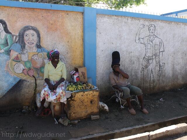 ジャマイカ・ファルマスの街中