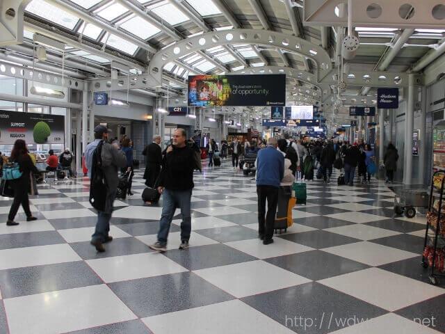 シカゴ国際空港