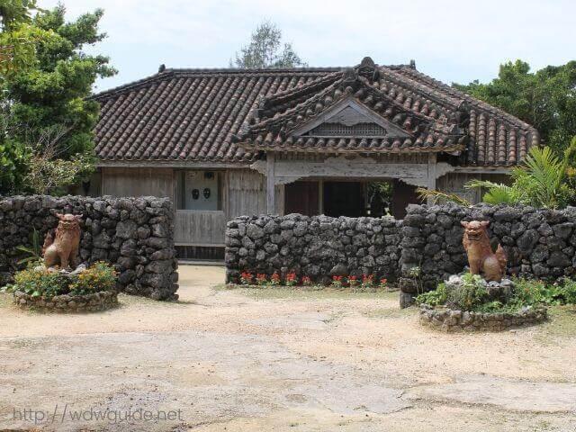 石垣やいま村の古民家