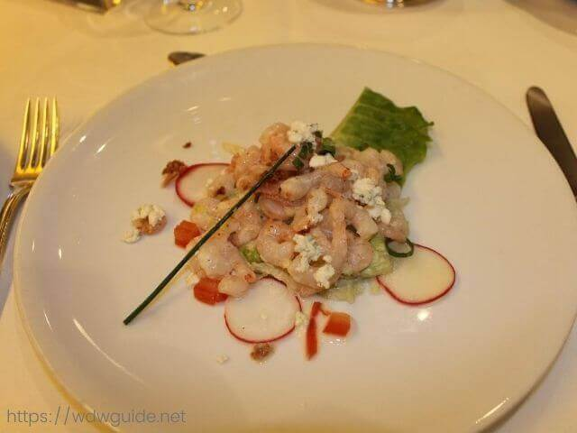 Bay Shrimp Cobb with Celery Slaw
