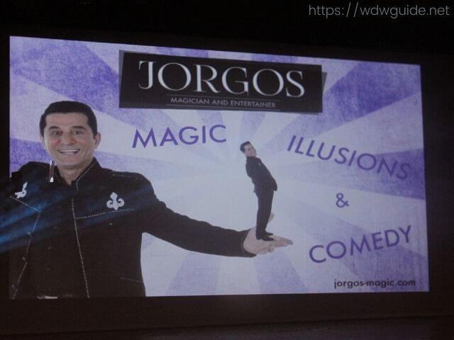 JORGOSのマジックショー