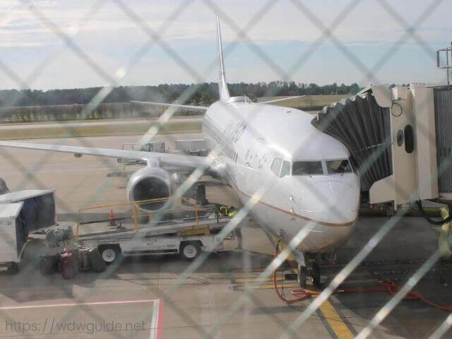 ユナイテッド航空UA2040