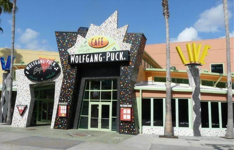 ウォルトディズニーワールドのディズニースプリングスのレストラン