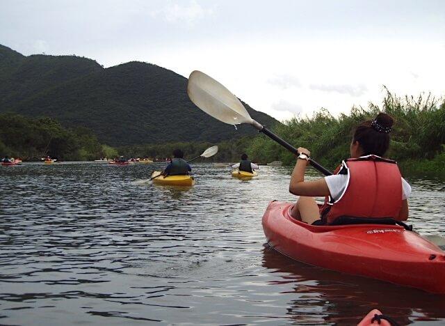 奄美大島のマングローブでのアクティビティ