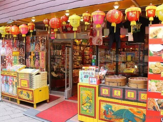 長崎新地中華街の店舗
