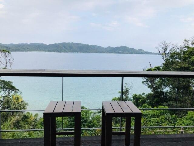 リゾートからの風景