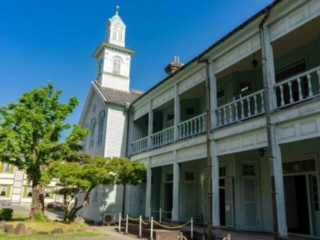 長崎にある旧出島神学校