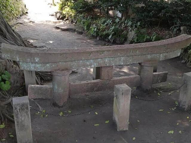 桜島の黒神神社