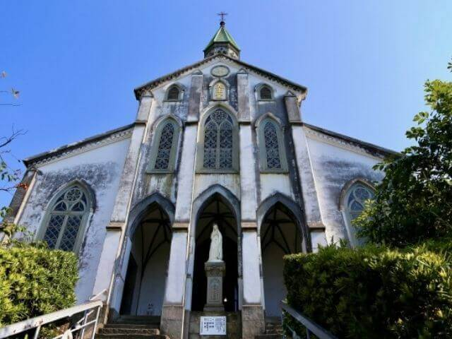 長崎の定番観光名所の大浦天主堂