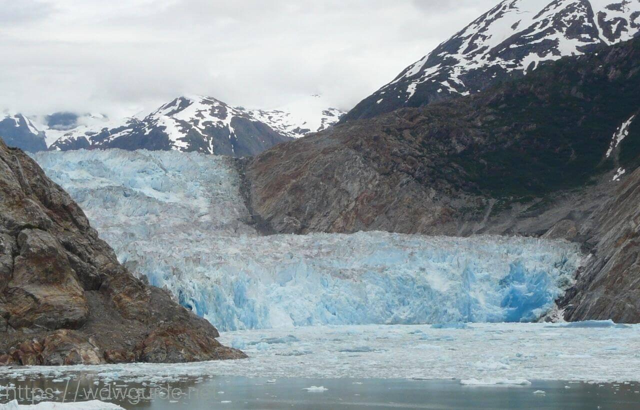 アラスカ ソーヤ氷河