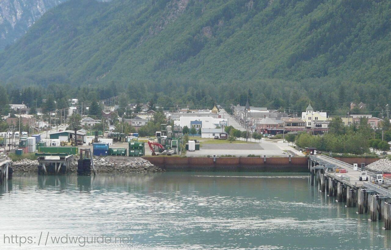 アラスカ・スキャグウェイの町