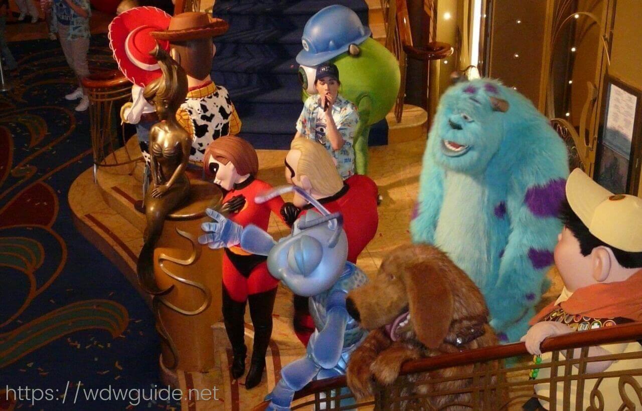 ディズニーワンダーのピクサーパーティー