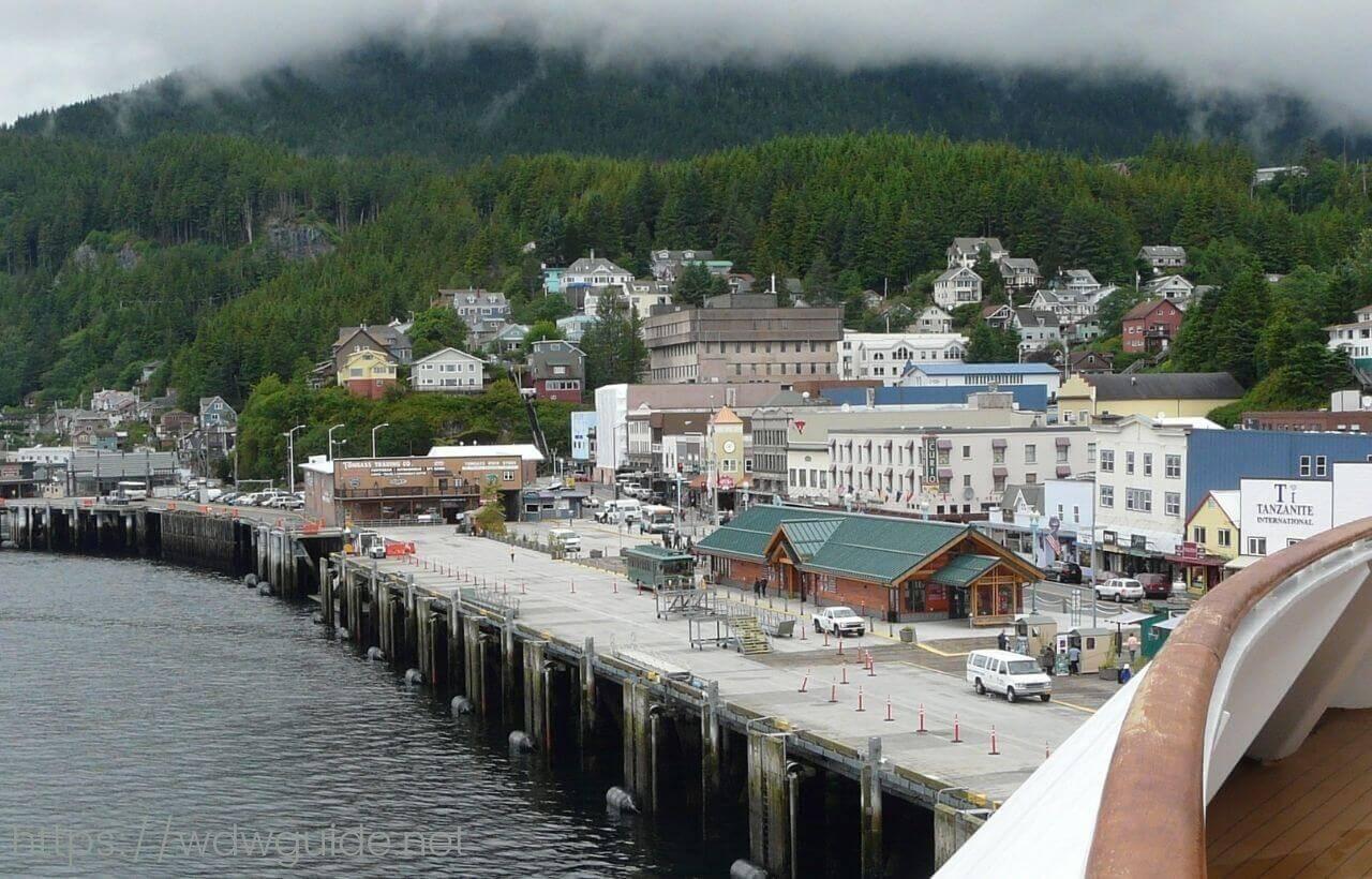 アラスカ・ケチカンの港