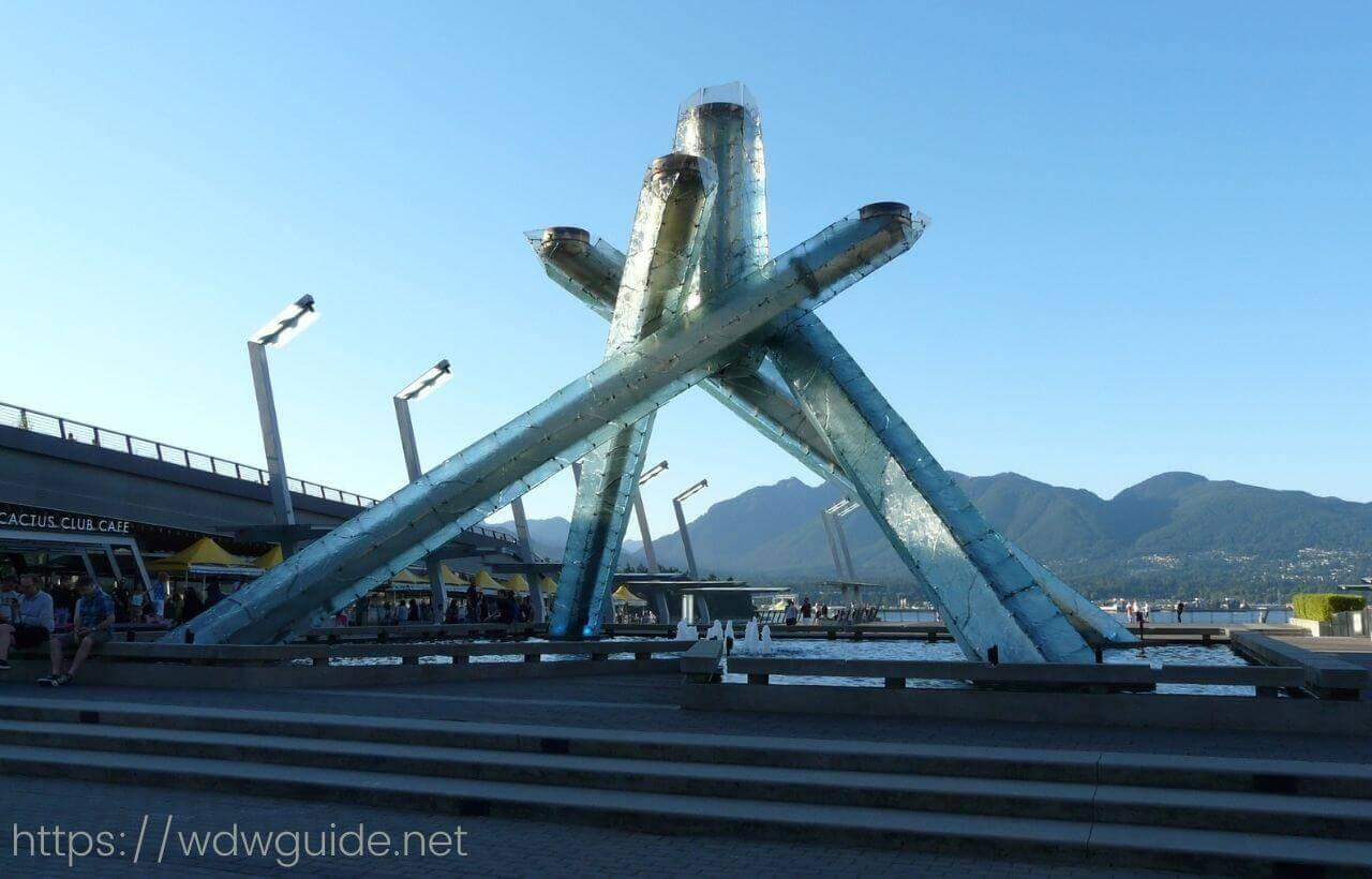 バンクーバーオリンピックで使われた聖火台