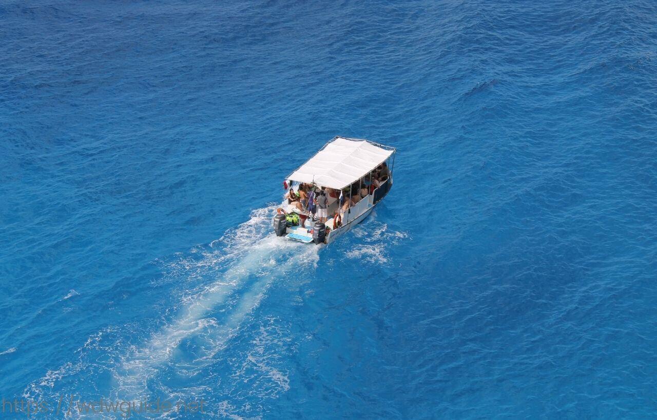 メキシコ・コスメルの美しいカリブ海