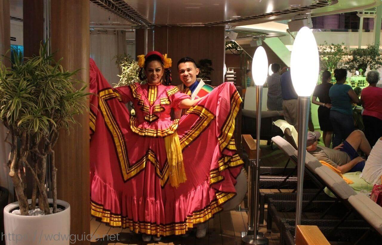 コーニングスダムで行われたメキシカンパーティー