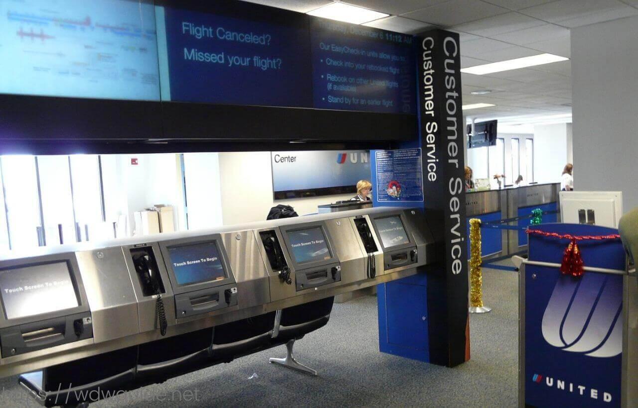 ワシントンダレス国際空港(IAD)のカスタマーサービス