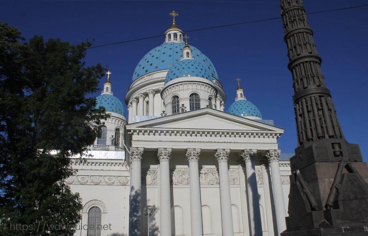 ロシア・サンクトペテルブルクの町中