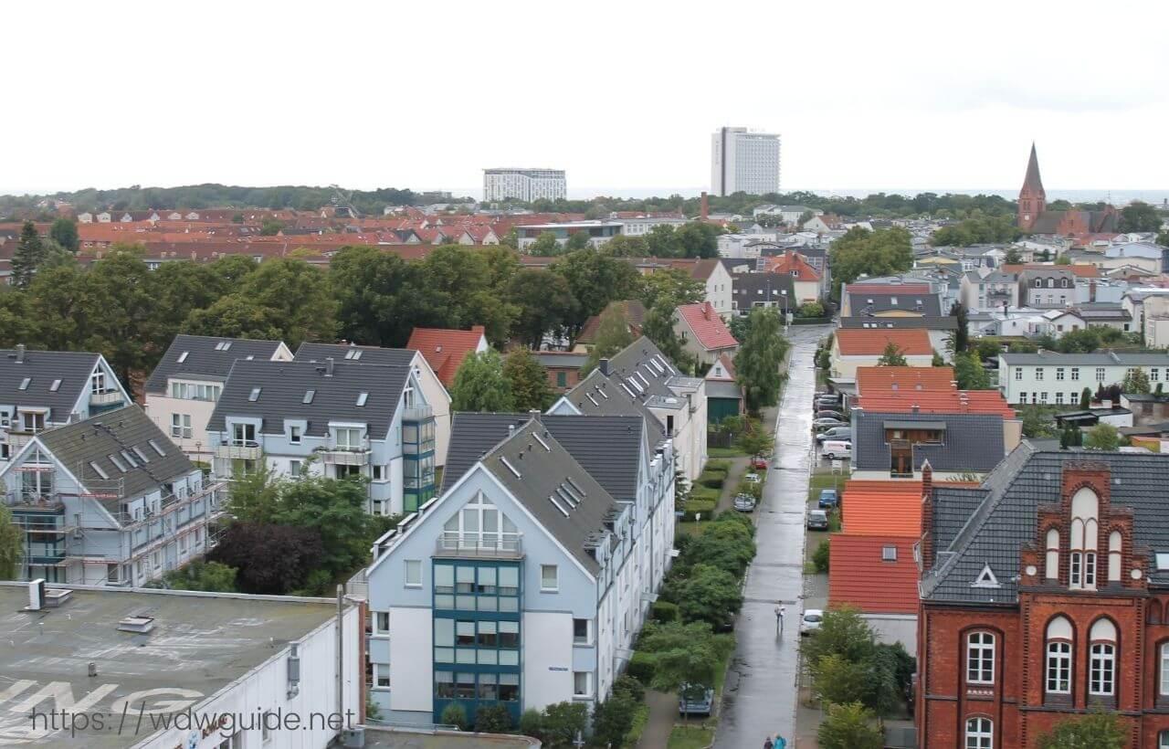 ドイツ・ヴァルネミュンデの街並み