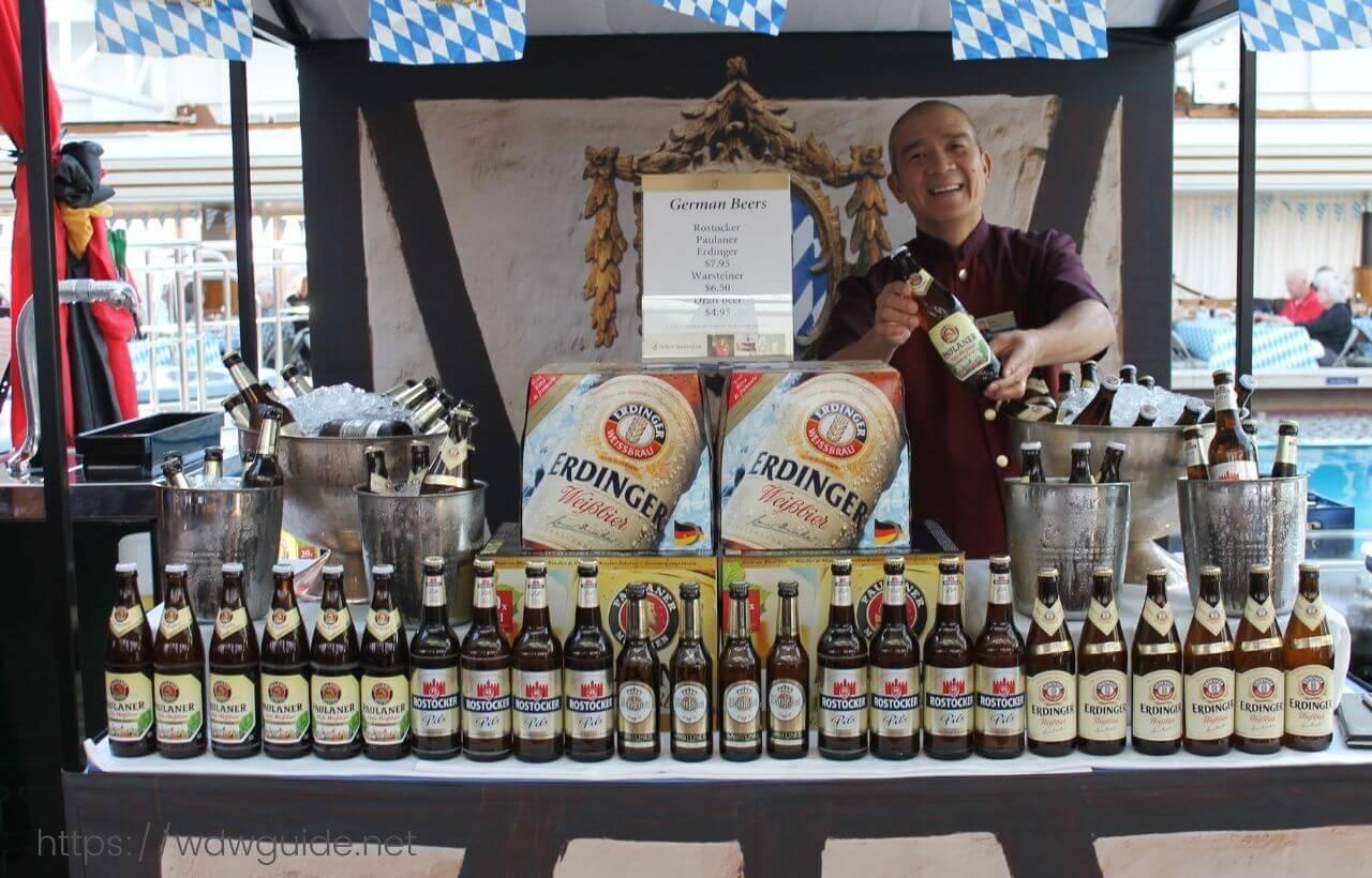 ドイツ・ビール・フェスタのビール