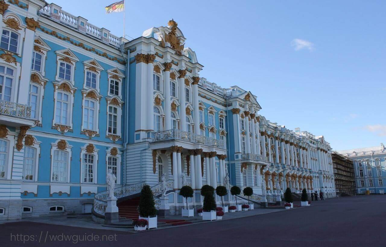 サンクトペテルブルクのエカテリーナ宮殿