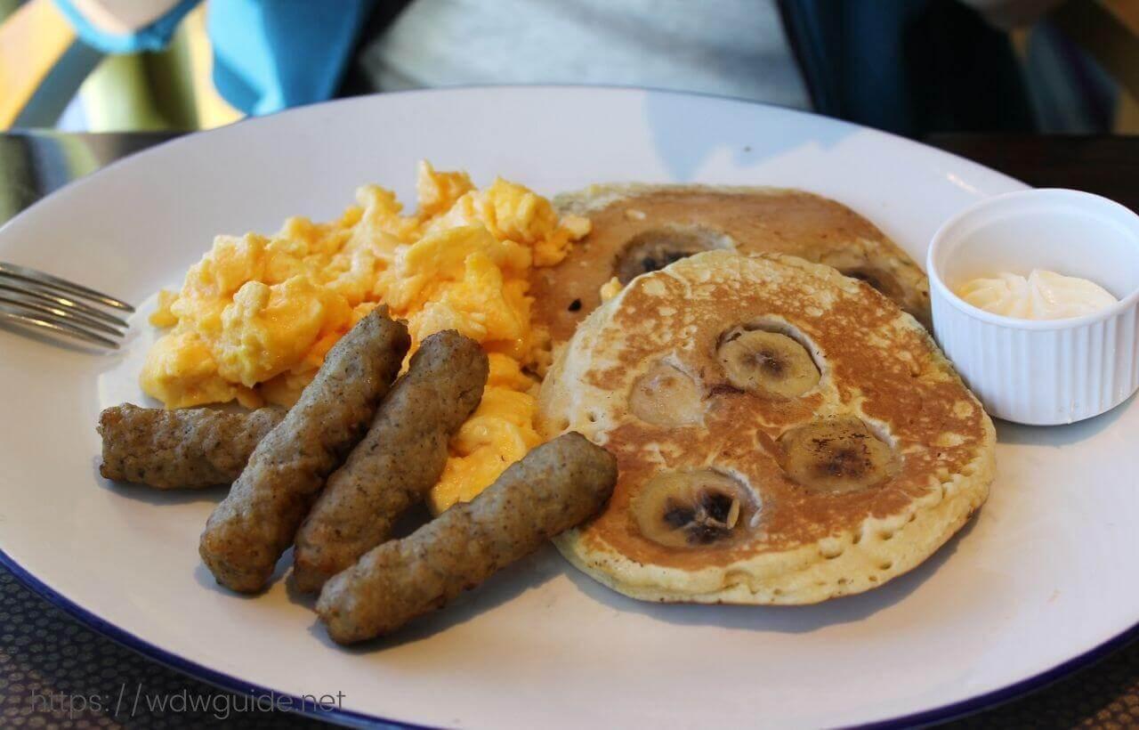 ユーロダムのリドでの朝食