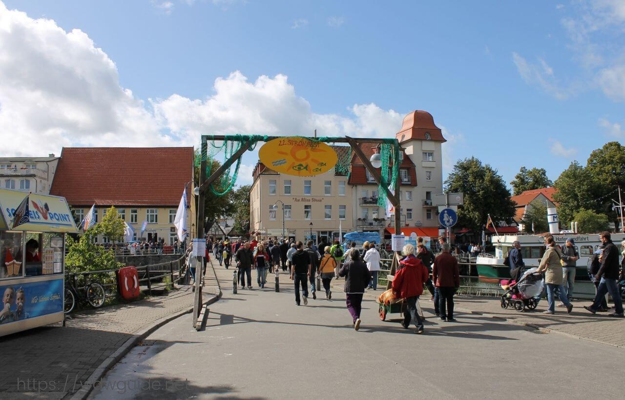 ドイツ・ヴァルネミュンデの町