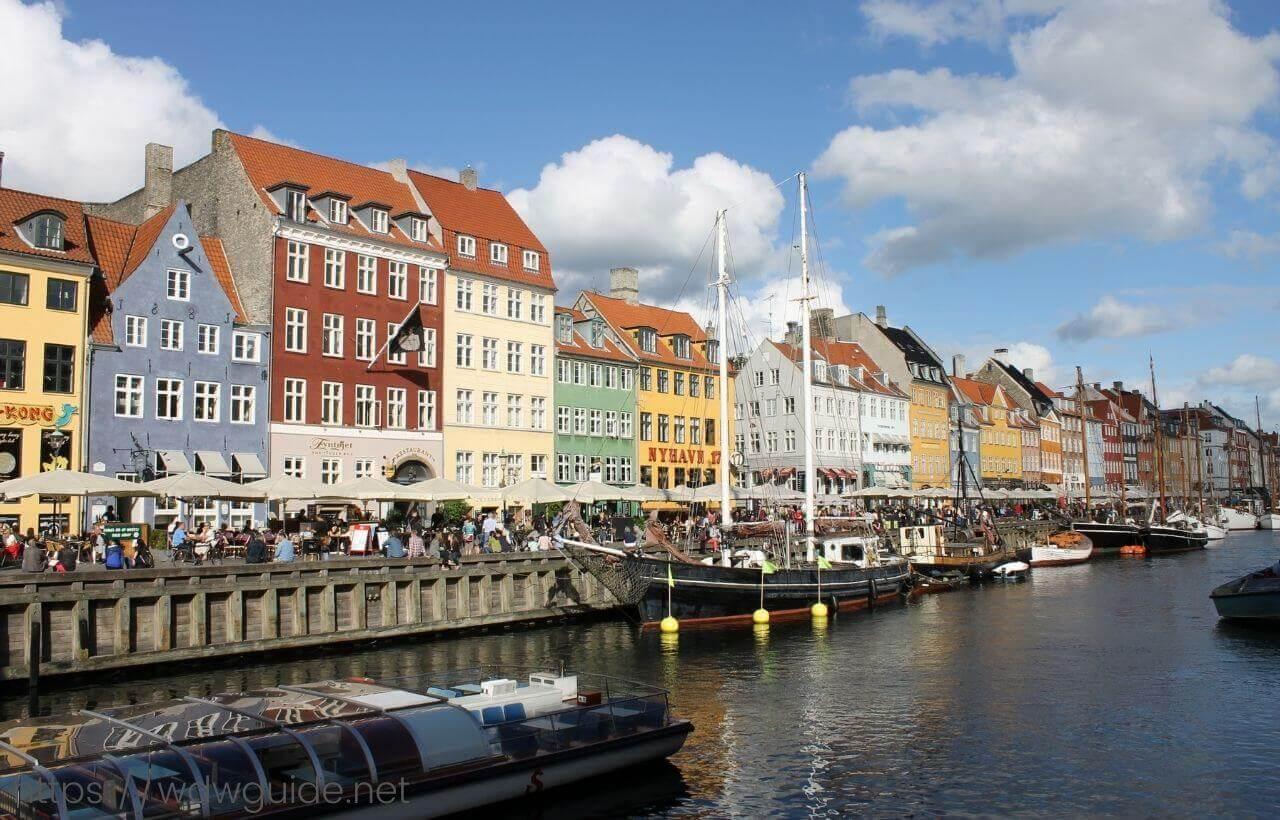 コペンハーゲンのニューハウン