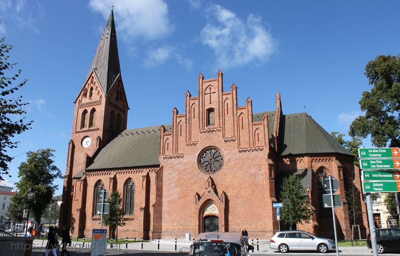 ドイツ・ヴァルネミュンデの教会
