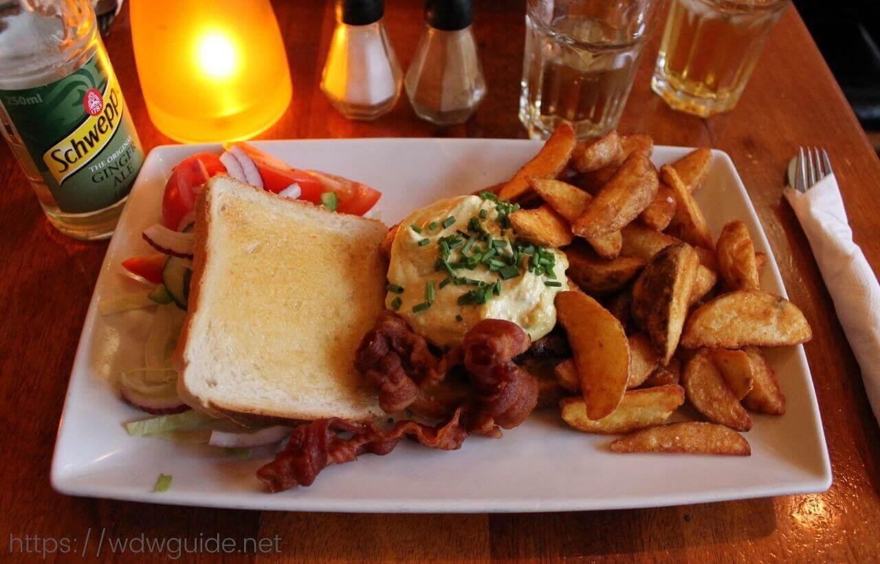 コペンハーゲンのニューハウンで食べた料理