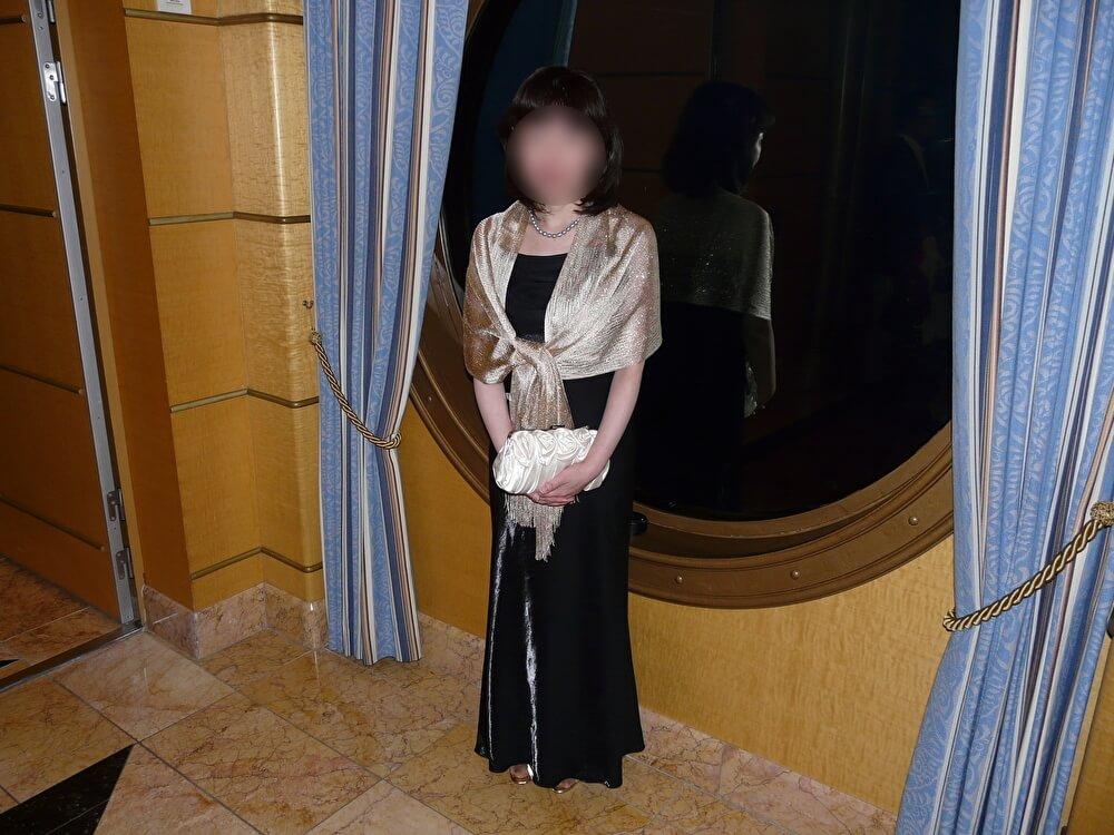 ディズニークルーズでのフォーマルのドレス