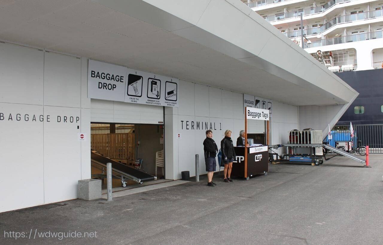 デンマーク・コペンハーゲンのクルーズターミナル