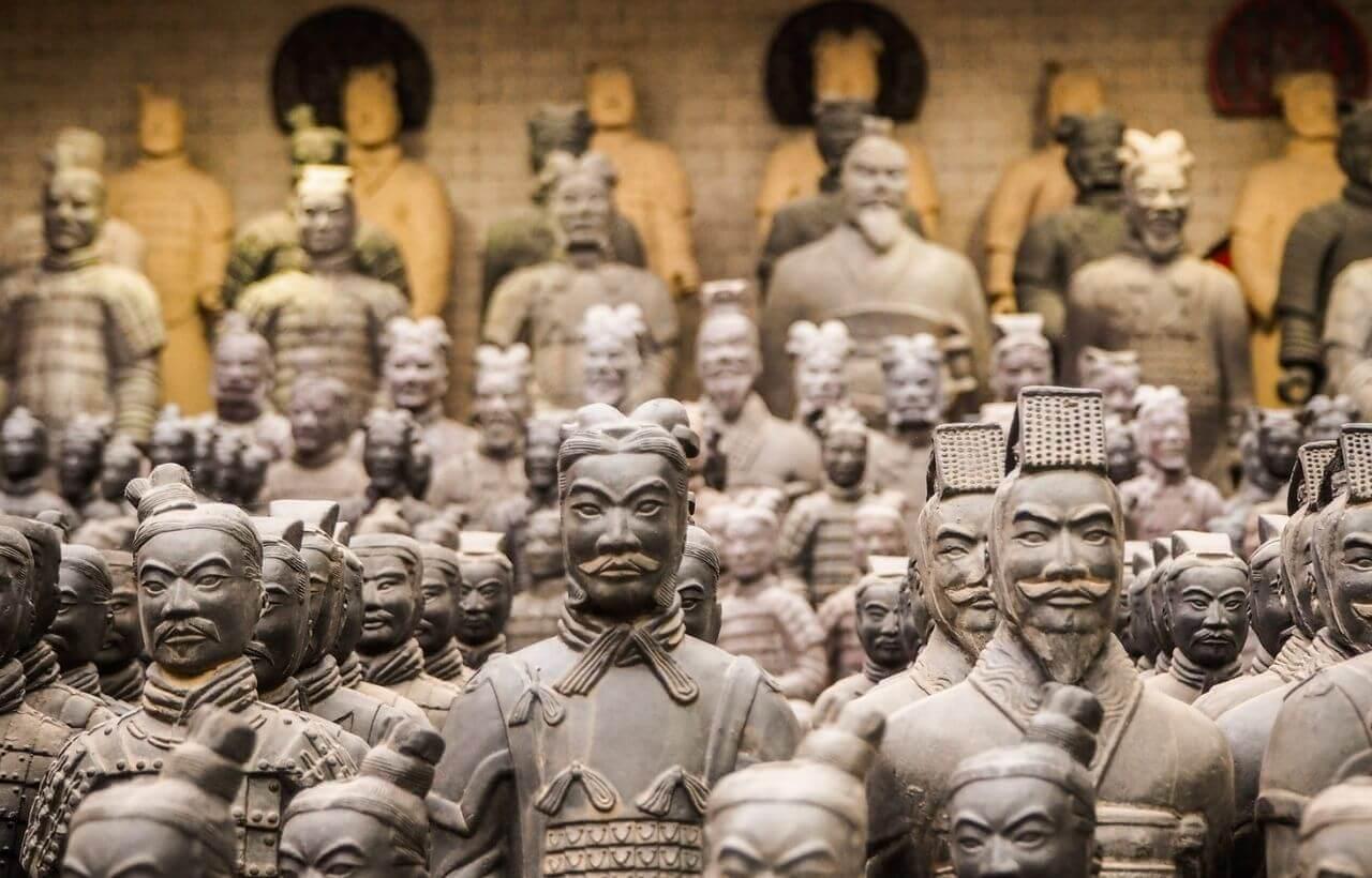 西安人気の兵馬俑のオンライン海外ツアー