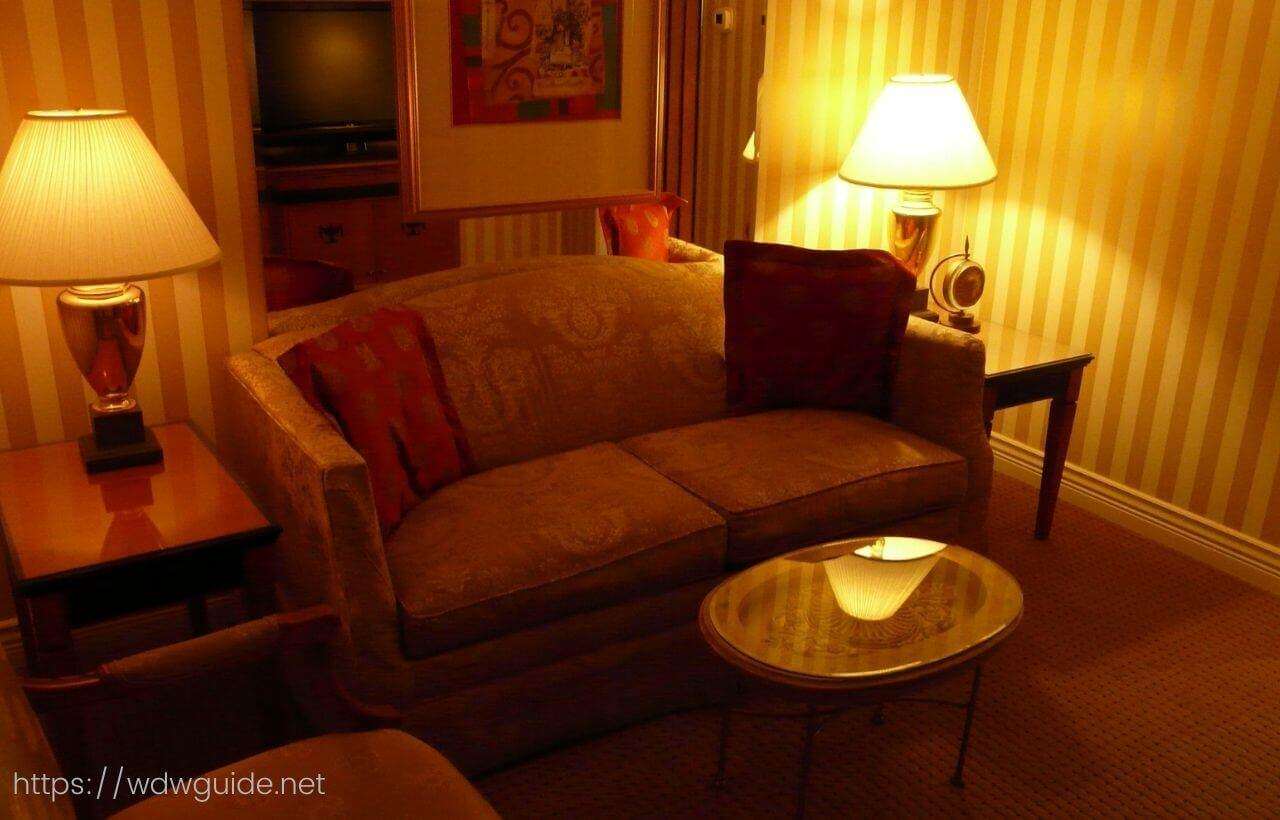 バンクーバーのホテル ル・ソレイユの室内