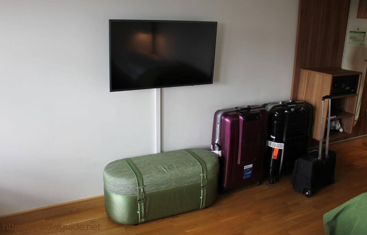 スカンディック コペンハーゲンの客室のテレビ
