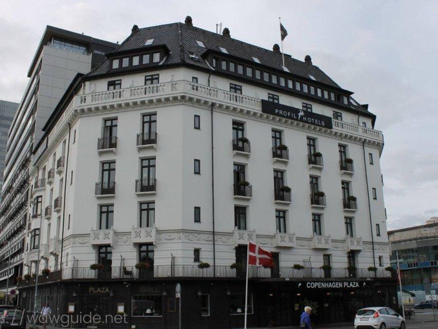 コペンハーゲンプラザ(Copenhagen Plaza) コペンハーゲン中央駅に隣接した観光に便利なホテル