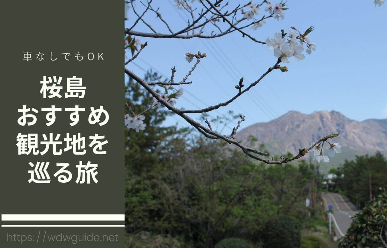 桜島旅行記ブログ