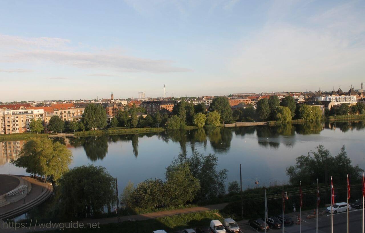 スカンディック コペンハーゲンからの眺め