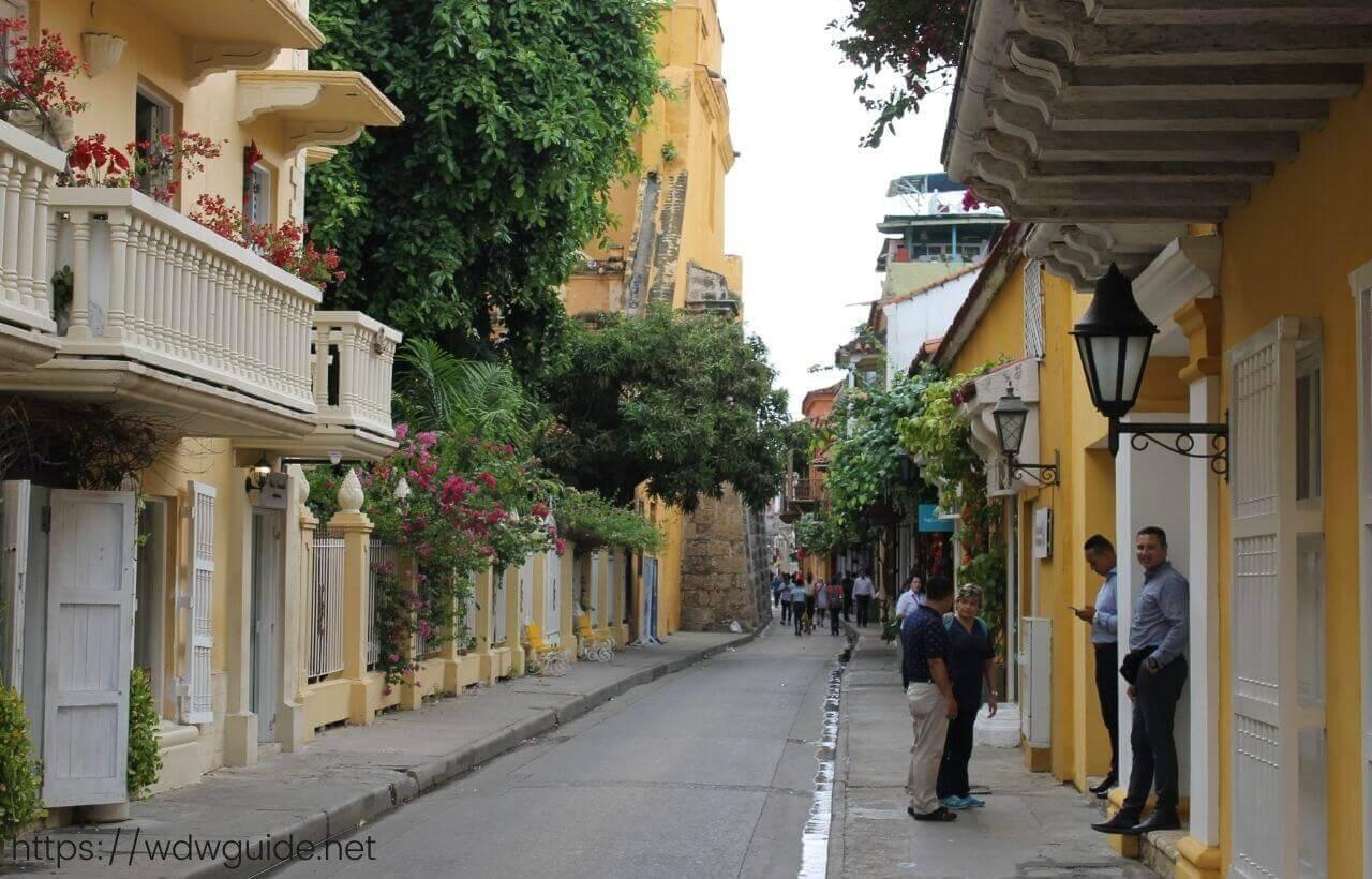 コロンビア・カルタヘナの旧市街