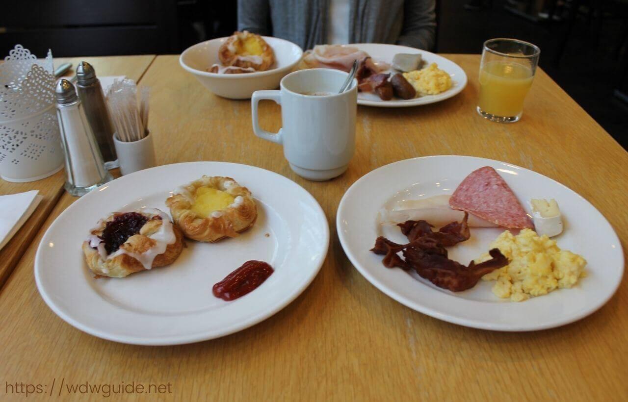 スカンディック コペンハーゲンの朝食