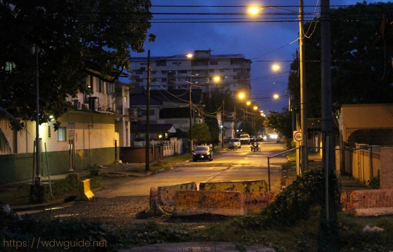 パナマ・コロンの街中