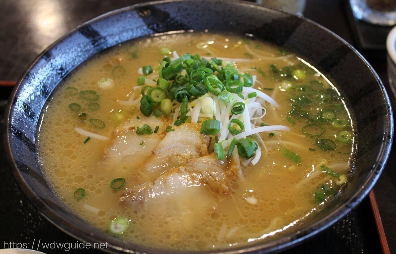 道の駅 桜島 火の島めぐみ館で食べた黒豚ラーメン