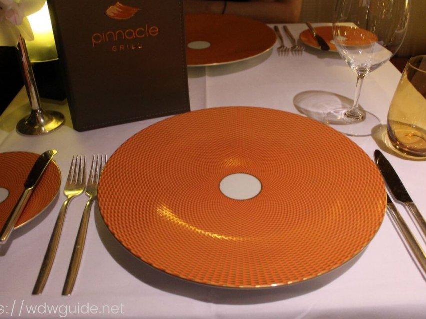 ピナクルグリル(Pinnacle Grill )|ホーランドアメリカラインのステーキハウス