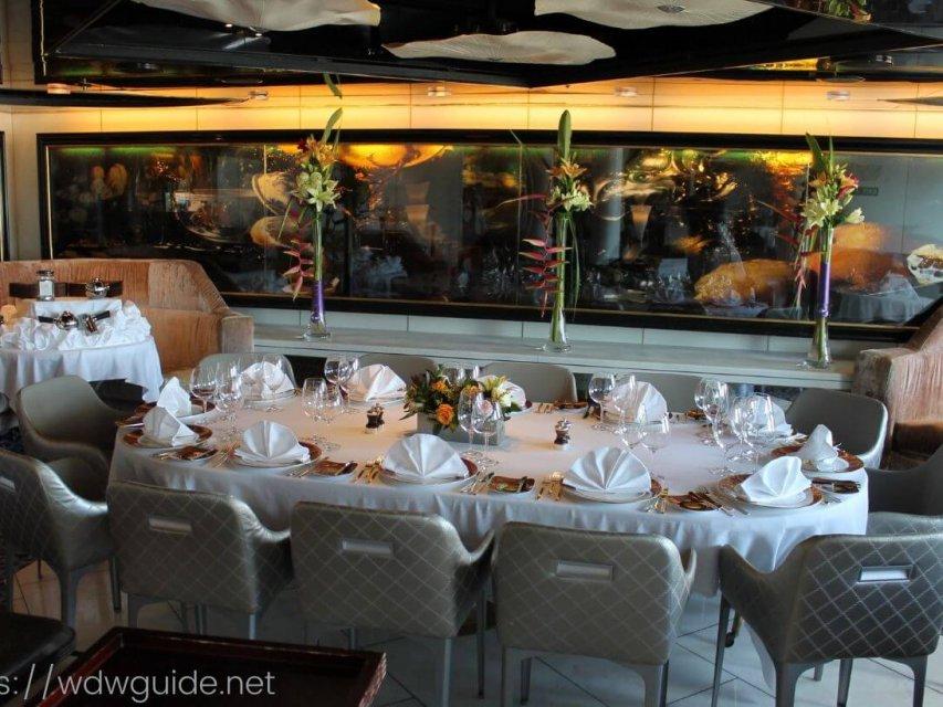 ピナクルグリル(Pinnacle Grill )のランチ|ホーランドアメリカラインのステーキハウス
