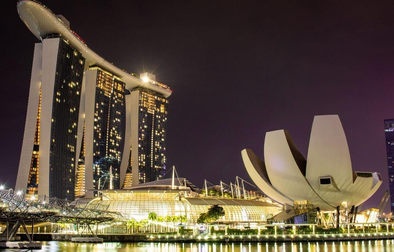 シンガポールのマリナーベイ・サンズ