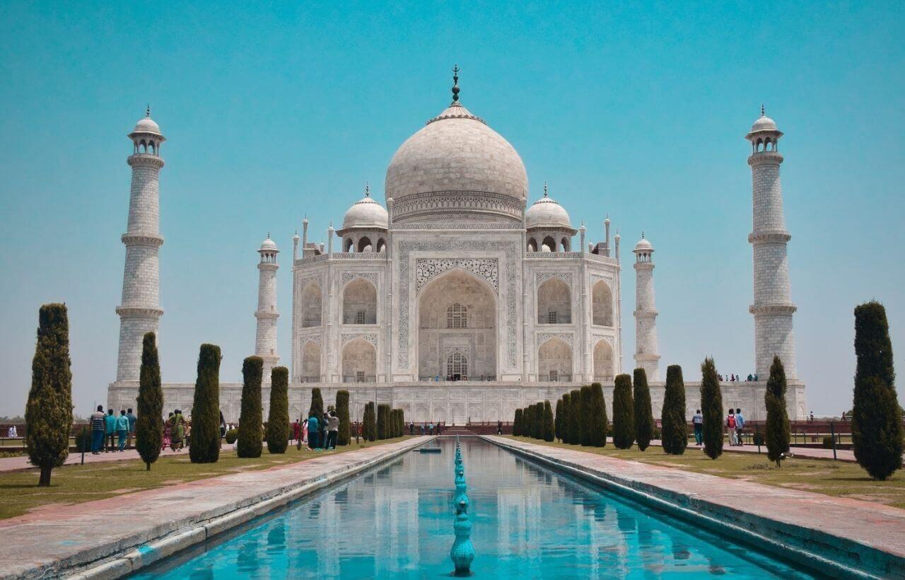 インド・タージマハール