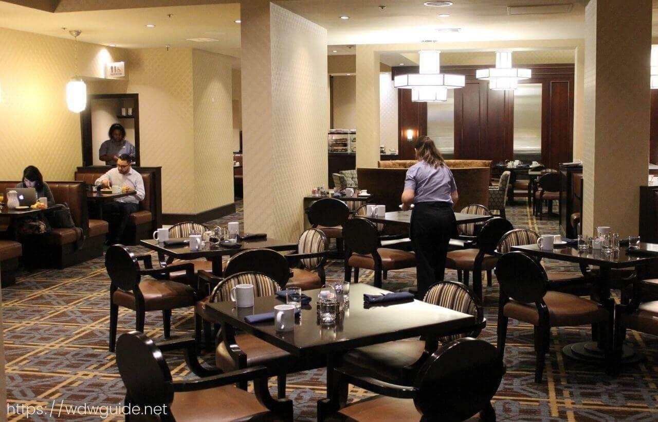 シェラトン・ノース ヒューストン ジョージブッシュ インターナショナルのレストラン