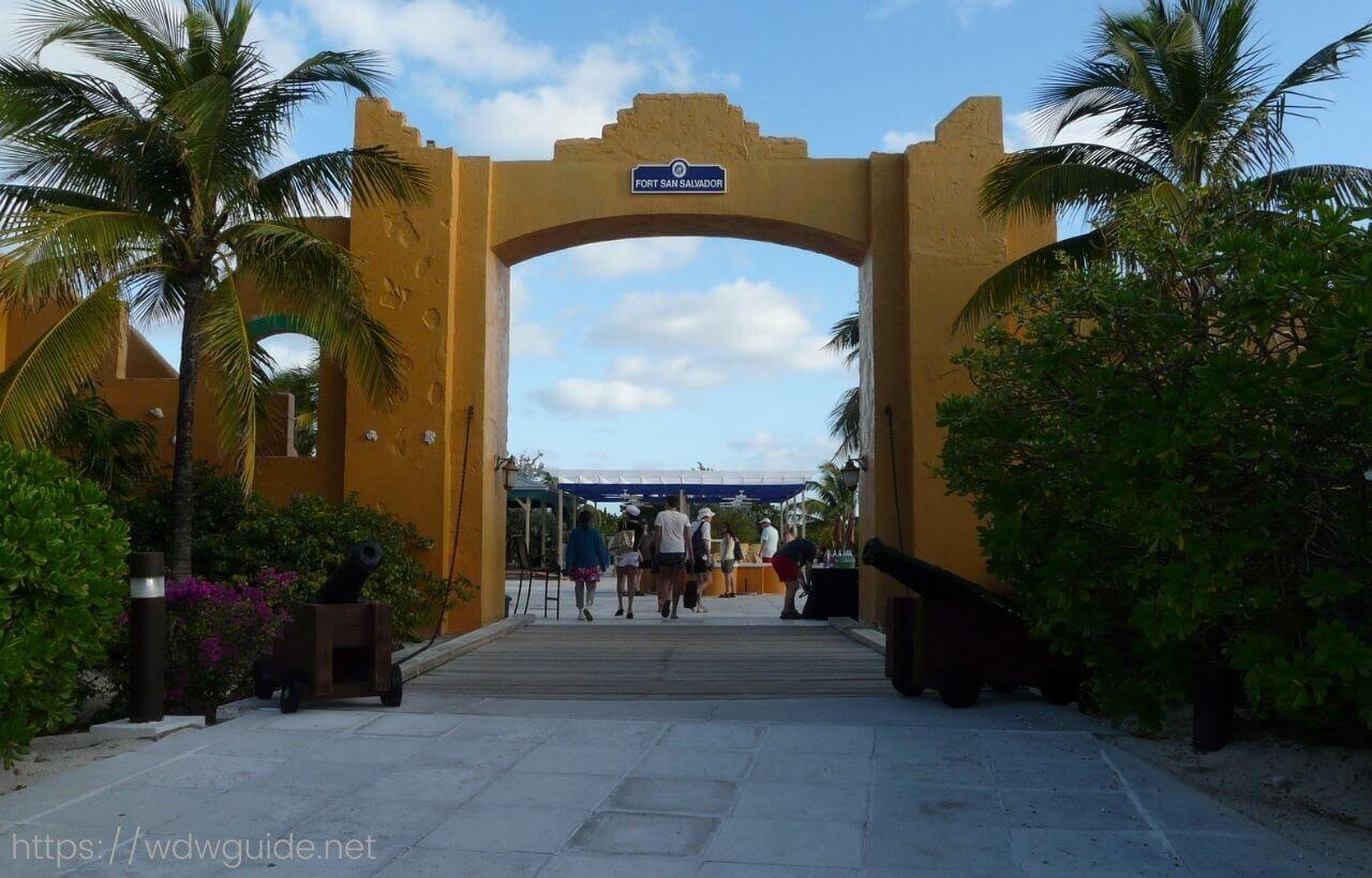 ハーフムーンケイのゲート