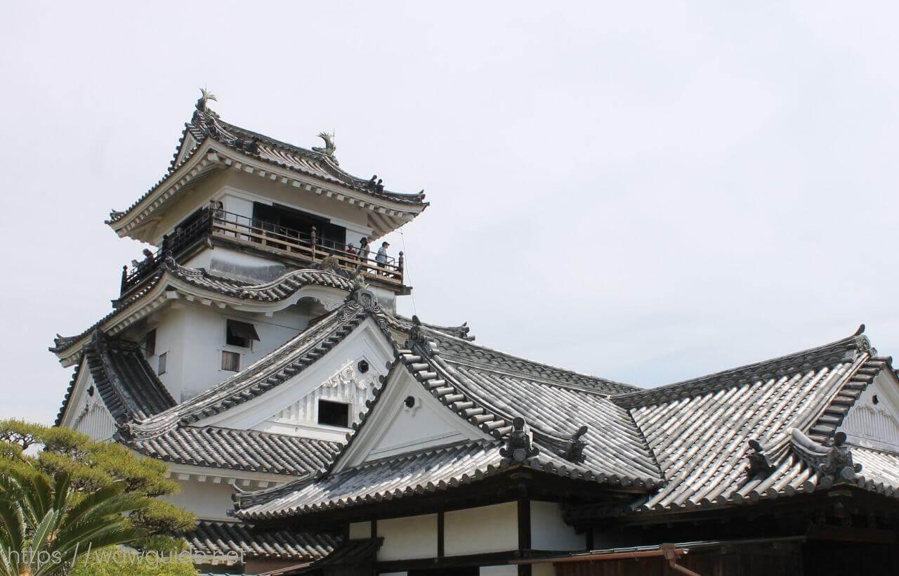 高知城本丸御殿入口