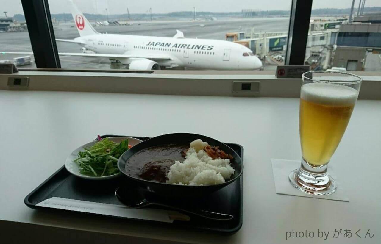 JAL国際線ラウンジカレー